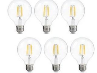 KOHREE 4W lED 6 Pack Globe lightbulbs