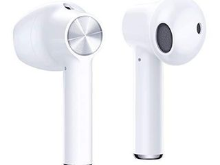 OnePlus Buds   True Wireless Earbuds with Charging Case  White   Fast Charging  long Battery life and Deep Bass