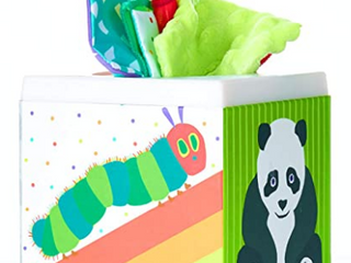 Kids Preferred World Of Eric Carle Tissue Box Sensory Toy