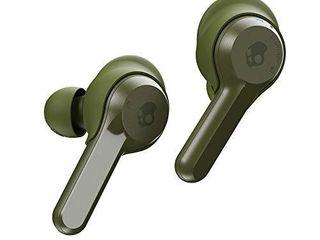 Skullcandy Indy True Wireless In Ear Earbud   Olive