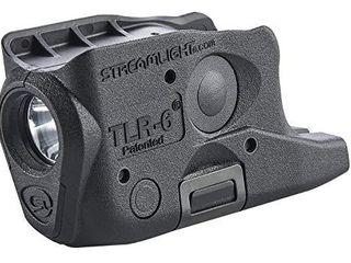 Streamlight 69282 TlR 6 Tactical Pistol Mount Flashlight 100 lumen Without laser Designed Exclusively and Solely for Glock 26 27 33  Black