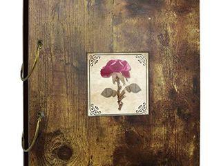 Edenseelake Dried Flower Photo Album 4x6 Photo Book Holds 200 Photos