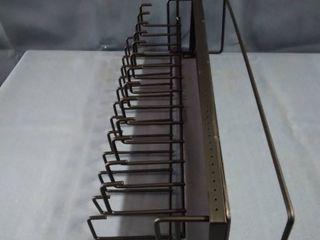 Hangable Black Hook Shelf