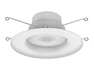 lED  Speaker Indoor Flood light  Recessed light Bulbs  65 Watt Replacement  Soft White  lED Flood light with Bluetooth Speaker light Bulb  1 pack