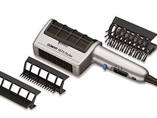 Conair 1875 Watt 3 in 1 Styling Hair Dryer with Ionic Technology and 3 Attachments