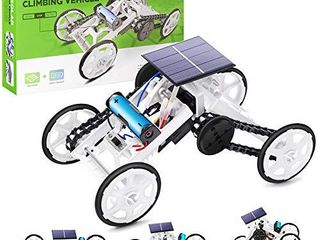 Selieve Stem Toys for 8 10 Year Old Boys  DIY 4WD Car Climbing Vehicle Motor Car Educational Solar Powered Science Building Toys  Gifts for 6 12 Year Old Boys or Girls