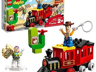 lEGO DUPlO Disney Pixar Toy Story Train 10894 Perfect for Preschoolers  Toddler Train Set Includes Toy Story Character Favorites Buzz lightyear and Woody  21 Pieces