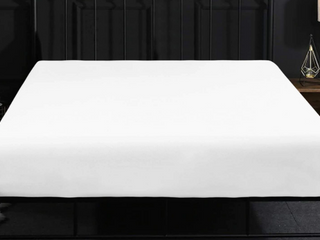 ntbay Full White Fitted Sheet
