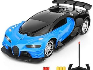 Remote Control Car   1 16 Scale Electric Remote Toy Racing  with led lights High Speed RC Toy Car for Kid 3 4 5 6 7 8 9 Year Old Boys and Girls  Blue