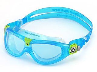 Aqua Sphere Seal Kid 1 Swim Goggle  Blue lens   Transparent new version