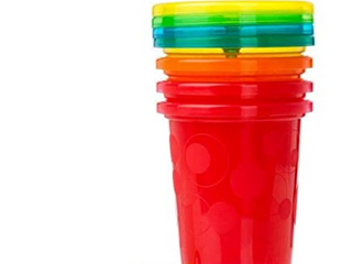 The First Years Take   Toss Straw Cup   Boy   10 oz   4 ct