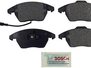 Bosch BE1107 Blue Disc Brake Pad Set for Select Audi A3  A3 Quattro  TT  Volkswagen Eos  Golf  GTI  Jetta  Passat  Rabbit   FRONT
