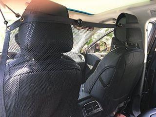 BINGPET Vehicle Pet Barrier Backseat Mesh Dog Car Divider Net 50 X 29 5