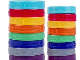 16 Plastic Storage Caps