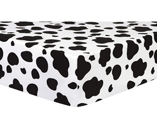 Full Cowprint Fitted Sheet