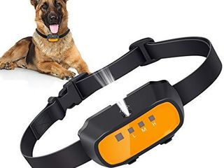 Queenmew Dog Bark Collar  Citronella Spray Anti Barking Device Rechargeable Waterproof Stop Bark Training Collars  No Electric Shock Anti Bark Deterre  NO Include Remote Control