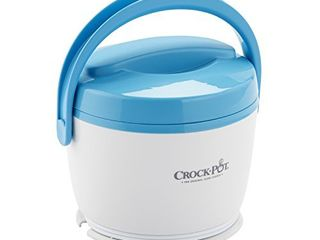 Crock Pot lunch Crock Food Warmer  Blue