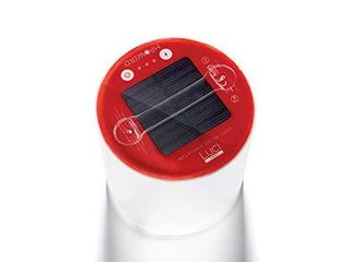 MPOWERD luci EMRG  Solar Inflatable All in One Emergency light and Flashlight  S O S   Steady Red Modes  lasts 7 Hours  No Batteries Neede  Waterproof  Collapsable  lightweight  Durable