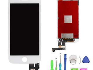 FFtopu iPhone 7 Plus Screen Replacement White 5 5  lCD Display and 3D Touch Screen Digitizer Replacement Full Assembly for iPhone 7 Plus Screen with Repair Tool Kit