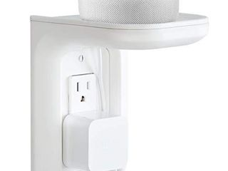 Made for Amazon Outlet Shelf for Amazon Echo Devices   White