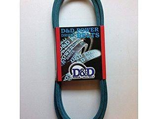 D D PowerDrive ORB H 1101 Cub Cadet MTD 754 0461 954 0461 Kevlar Replacement Belt  1 2  x 78  4lK Section  Rubber