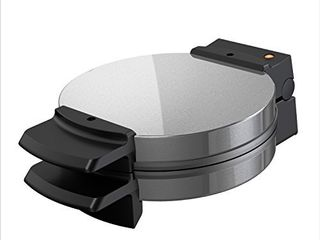BlACK DECKER Belgian Waffle Maker  Stainless Steel  WMB500