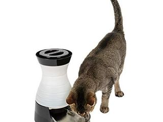 PetSafe Healthy Pet Water Station  Dog and Cat Water System with Stainless Steel Bowl  Small  64 oz