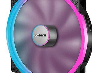 upHere P200RGB Hydraulic Bearing 200mm 5V RGB PWM Fan for Computer Cases P200RGB