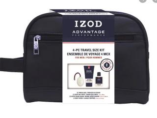 IZOD Athletic 4PC Travel Size Kit