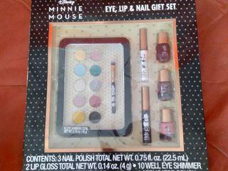 Minnie Mouse Eye lip Nail Gift Set
