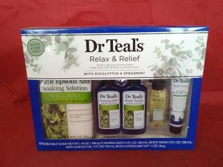 Dr Teals Relax And Relief Bath Gift Set