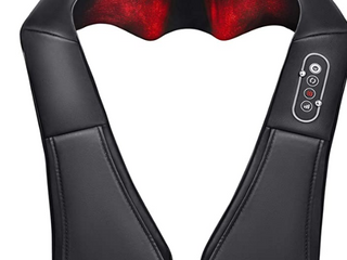 Naipo  Shiatsu 3D Rotating Massager With Heat For Neck   Shoulder  MGS 150DC