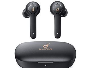 Anker Soundcore life P2 True Wireless Earbuds with 4 Microphones  CVC 8 0 Noise Reduction  aptX Audio  Graphene Driver  USB C  40H Playtime  IPX7 Waterproof  Wireless Earphones for Work  Home Office