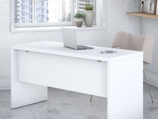 Echo 60W Credenza Desk from Office by kathy ireland   Retail 266 49