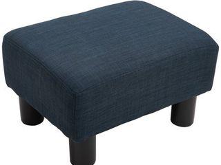 16  Cube Modern linen Footrest Ottoman