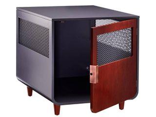 Staart   Radius Wooden Dog Crate   Mocha Walnut   Medium  Retail 205 99