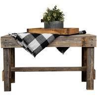 The Gray Barn Graceland Rustic Farmhouse Wooden Bench Seat   Retail 104 99 dark walnut
