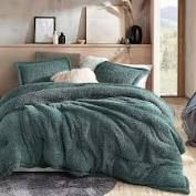 Shankapotomus   Coma Inducer Oversized Comforter   Silver Pine  Retail 153 49 queen