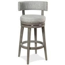 The Gray Barn Pond Road Swivel Stool 1 only Retail 167 49 antique gray wood with ash fabric