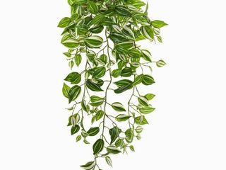 Nearly Natural 32 inch Wandering Jew Hanging Artificial Real Touch Plant  Set of 2
