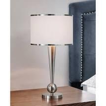 Dione Metal Modern Table lamp  Retail 101 49 brushed nickel
