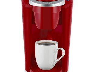 Keurig K Compact Single Serve K Cup Pod Coffee Maker  Imperial Red