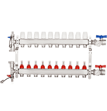 AB WiseWater 10 loops PDX Radiant Manifold