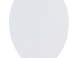 American Standard Contemporary Slow Close Elongated Closed Front Toilet Seat with TriVantage for VorMax Clean Curve Style Rims in White
