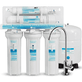Geekpure 5 stage reverse osmosis water filtration system