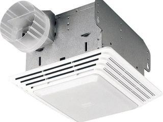 Broan 50 CFM Ventilation Fan with light  2 5 Sones