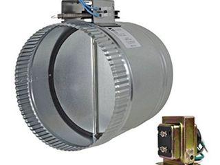 suncourt adjustable motorized damper  closed  8