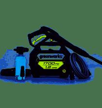 Greenworks 1700 psi portable electric pressure washer