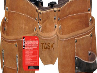 Task Tools T77250 Weekend Warrior Apron with Polyweb Belt  5 Pocket