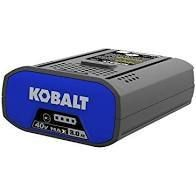 KOBAlT 40v max 2 0ah lithium battery and charger